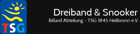 Dreiband & Snooker Logo